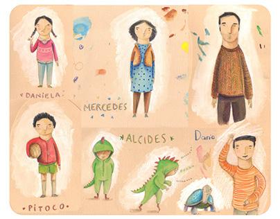 Ilustración para libros