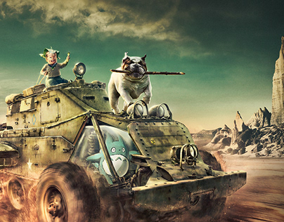 Mad Max Baby Road