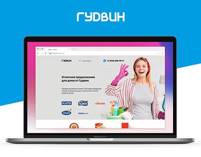 Goodvin promo Landing Page
