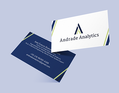 Identidade Visual Andrade Analytics