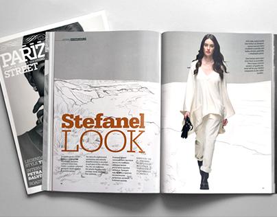 Stefanel- Fashion Story Illustrations