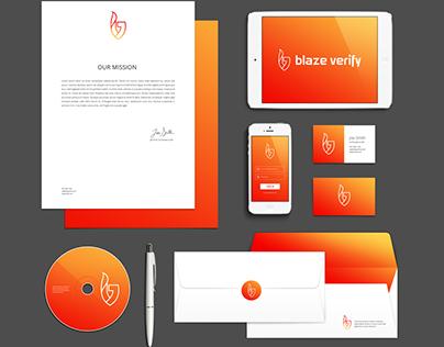 Blaze Verify Brand Identity