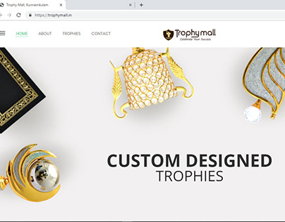 Trophymall-Web Design