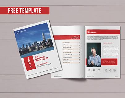 Brochure/Company Profile FREE TEMPLATE - Multipurpose