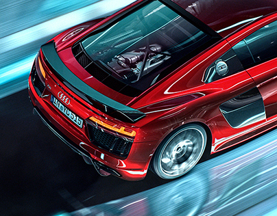 Audi R8 - CGI & Retouching