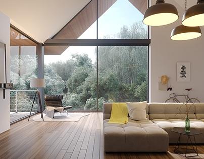 Simple Interior + Breakdown