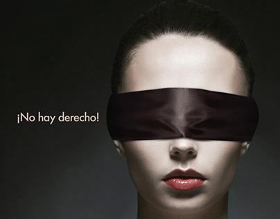 ¡No hay derecho! | Liga Contra el Cáncer - Poster