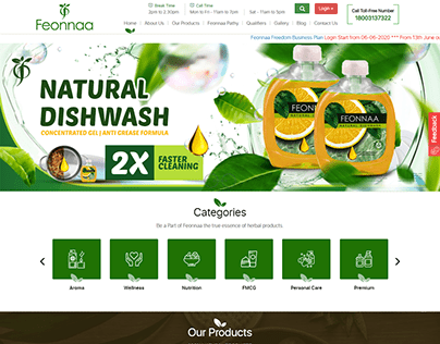 Feonnaaherbals.com - Natural Products Online Store
