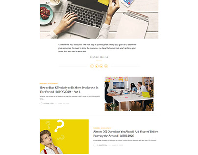 Isaac Gyau blog website