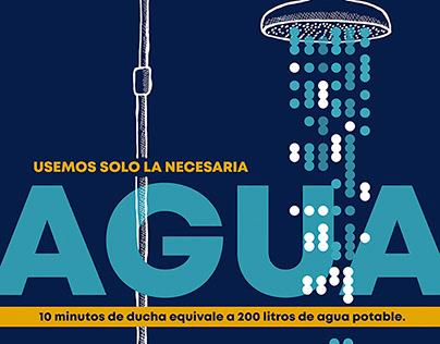 para Campaña de concienciación del Ayuntamiento Cádiz