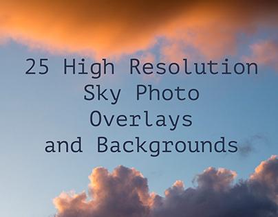 25 High Resolution Sky Photographs