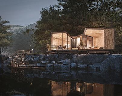 Freycinet Lodge - Mood Renders - CGI