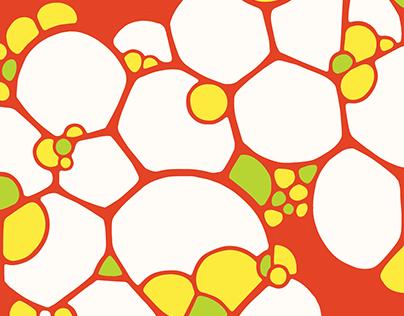Bubbly Melamine Plate Patterns