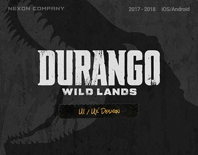 Durango: Wild Lands UI/UX