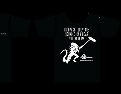 Lectrosonics Alien T-Shirt Design