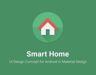 Smart Home UI Concept (Android App)