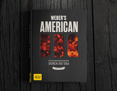 Webers American BBQ - Covergestaltung