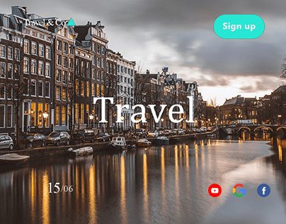 Web Sign up page