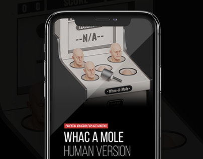 Whac A Mole 3D App