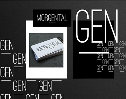 Branding & identity for MORGENTAL