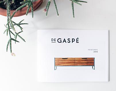 De Gaspé - Catalogue 2016