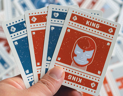 Lucha Libre card Deck