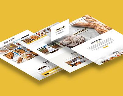 Jacobs Bakery - UI Web design