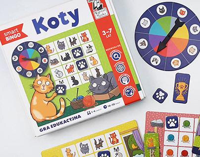 Koty - gra edukacyjna