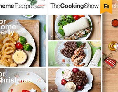 CJ The Kitchen iPad Application