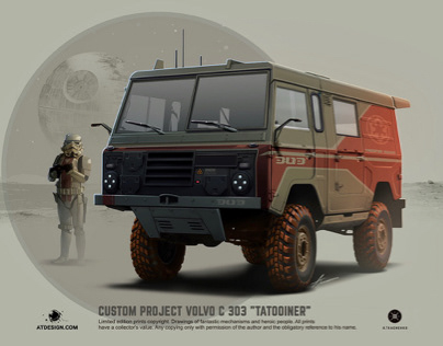 "Custom project Volvo C303 "" Tatooiner"""