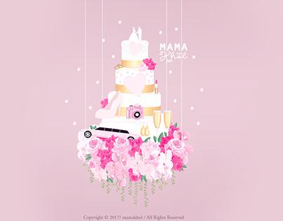 Wedding Planner • Illustration