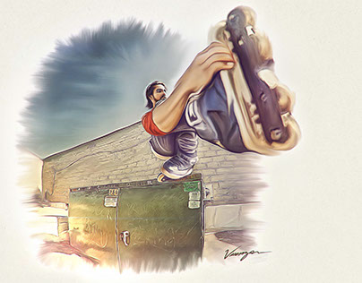 Austin Paz - Inline-Skate | Personal Artwork