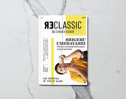 Revista Reclassic - Diseño Editorial