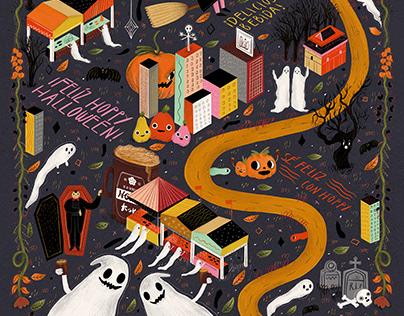 Happy Hoppy october calendar