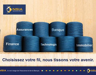 GROUPE NSIA - CAMPAGNE INSTIT - LE FIL DE L'AVENIR
