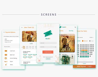 Book it!   Movie ticket booking App.