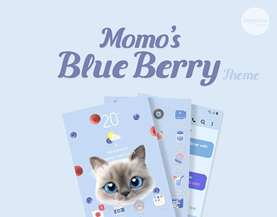 Momo's Blueberry Theme