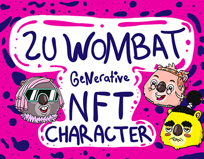 NFT CHARACTER (ZU WOMBAT)