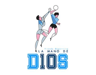 LA MANO DE D10S