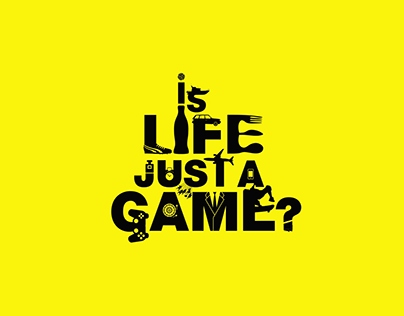 Is Life Just A Game - Kinetic Typography