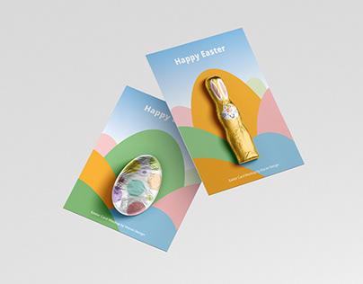 Easter Chocolate Card Mockup