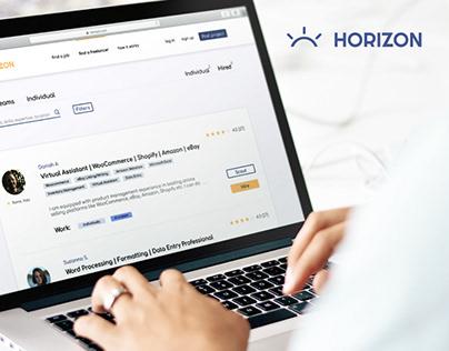 Horizon-Startup Web App