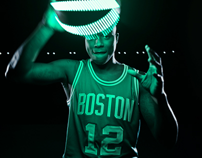 "Boston Celtics ""Glow"""