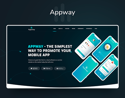 Appway | Mobile App Landing Page