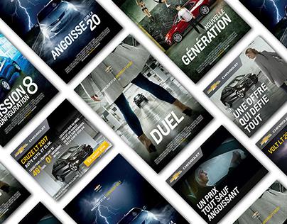 Chevrolet | campagne télé 360