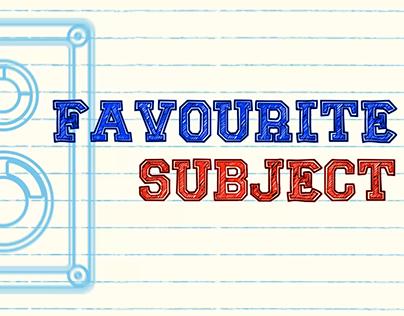 Shawn Lee - Fav Sub (Lyric video)