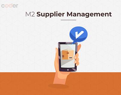 Magento 2 Supplier Management