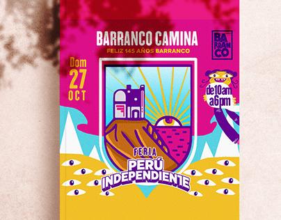 Diseño de Flyer para Municipalidad de Barranco - Lima
