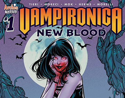VAMPIRONICA: New Blood Cover!