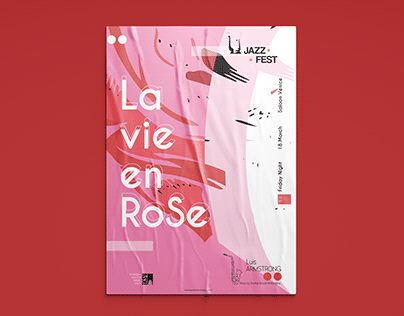 Jazz Fest Poster Design-2019